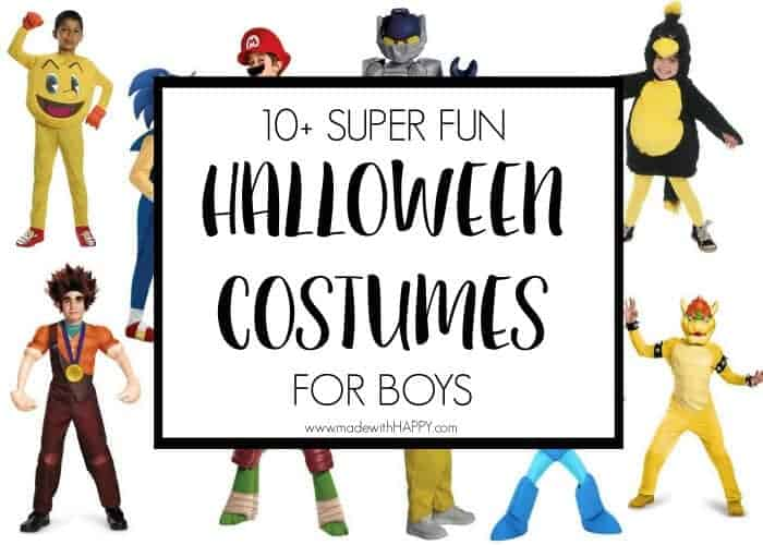 10 fun halloween costumes for boys boy video game costumes boy character halloween