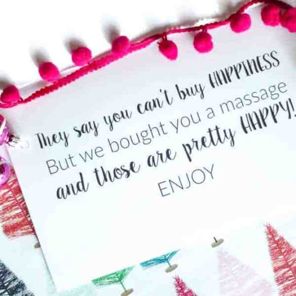 The Perfect Last Minute Gift + Printable Card