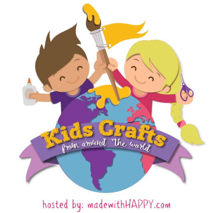 Kids Crafts from Around the World   Kids Craft Series with crafts from different countries around the world.   www.madewithHAPPy.com