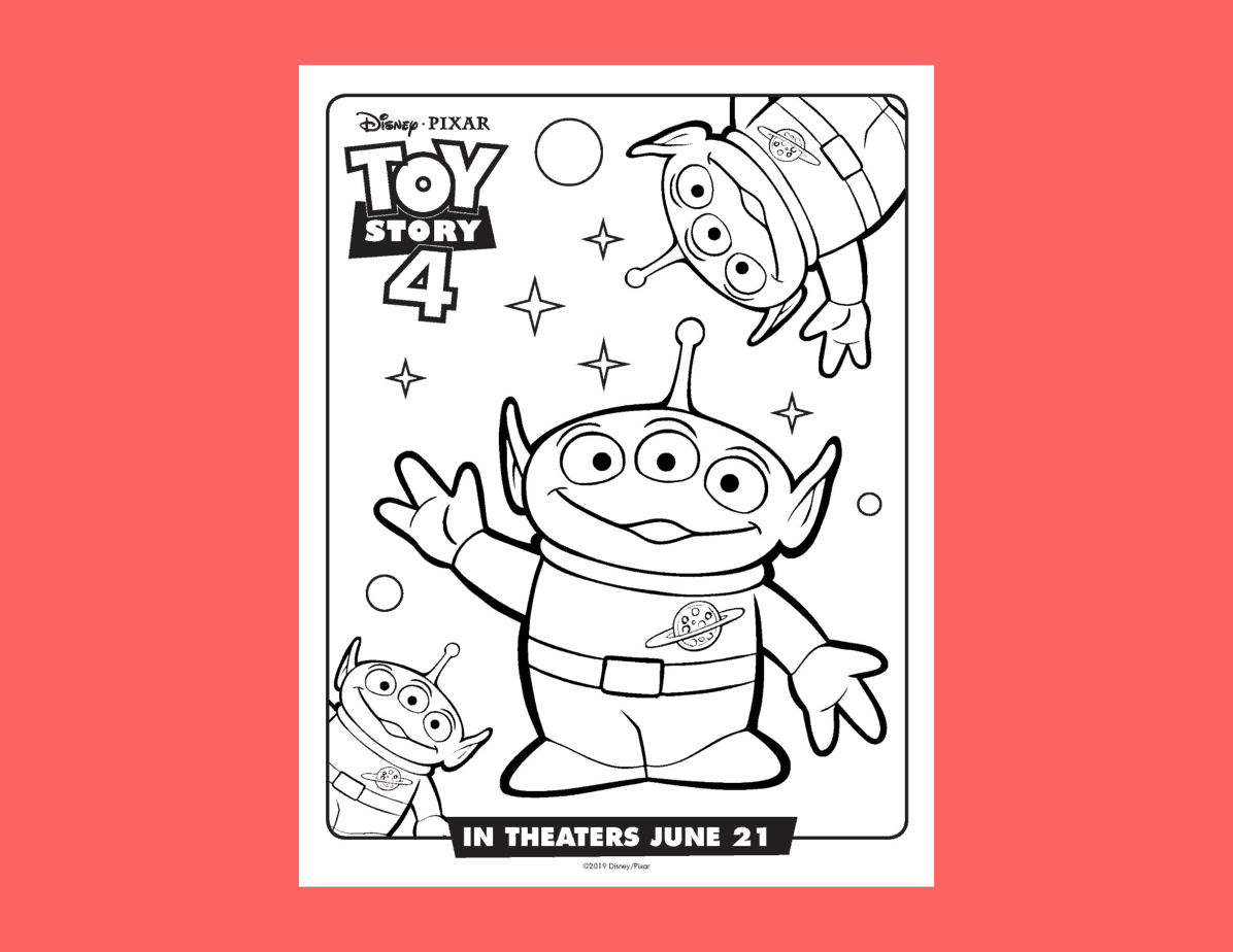 Free Printable Toy Story 4 Coloring Pages For Kids