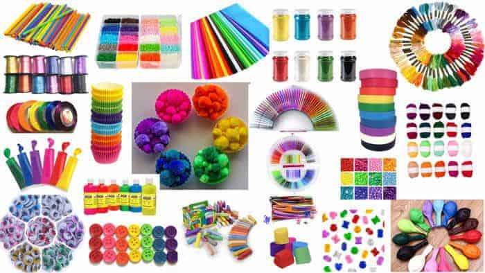 25+ Awesome Rainbow Craft Supplies
