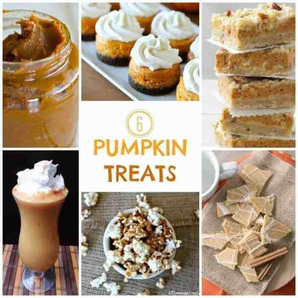 6 Pumpkin Treats