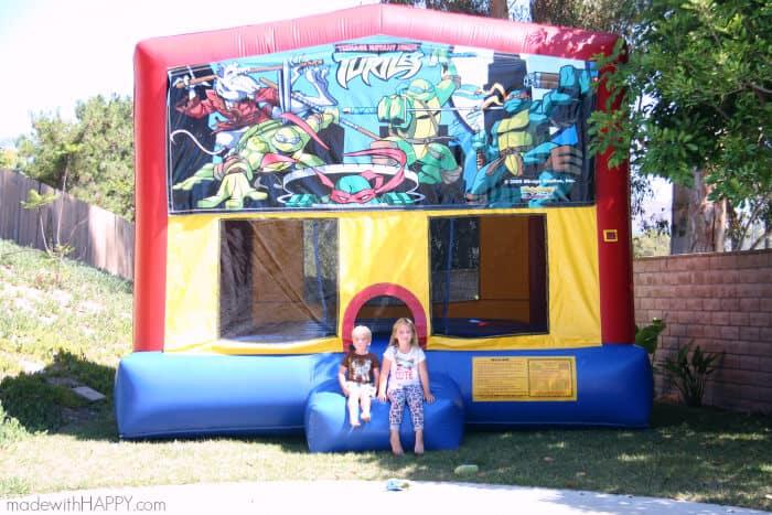 Teenage Mutant Ninja Turtle Party   TMNT Party Ideas   Boy Turtle Party   Ninja Party Ideas   www.madewithhappy.com