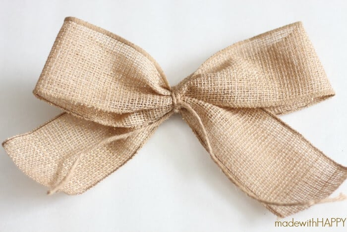 burlap-bow