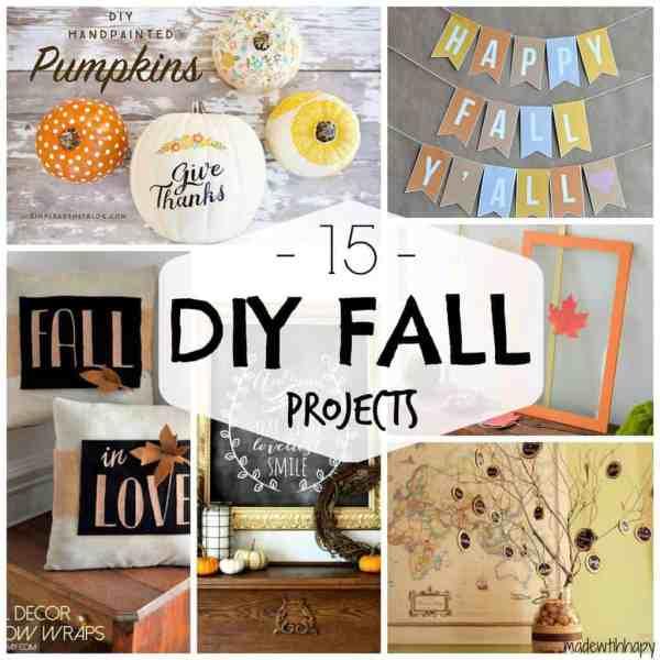 15 DIY Fall Decor Projects