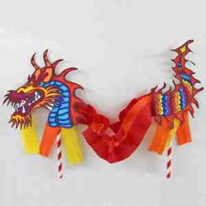 China - Chinese New Year Puppet - Made with HAPPY