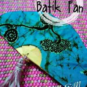 Indonesia- Batik Fan - Maria M Living Ideas