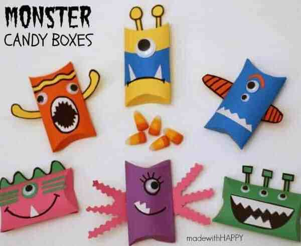 Monster Candy Boxes