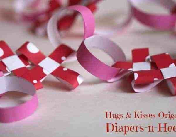 Hugs and Kisses Origami