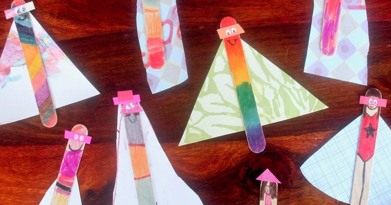 Popsicle Stick Superheroes