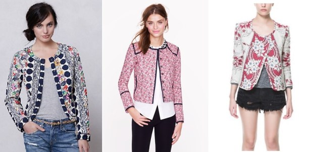 Quilted Jacket Inspiration from Zara, Anthropologie, and J.Crew