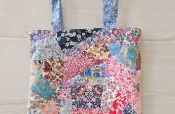 Mad For Fabric - DIY Liberty London Patchwork Tote