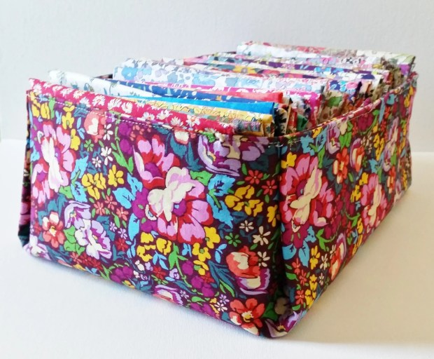 Mad For Fabric - DIY Fabric Box Display