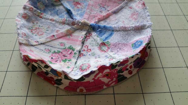 Mad For Fabric - Pincushion Top View Inside Out