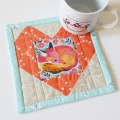 Mad For Fabric - Tula Pink Chipper Fox Nap Mug Rug