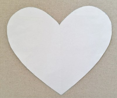 Diy liberty fabric button push pin art tutorial mad for fabric create a heart template on a piece of paper and trace the heart on your display board using the water erasable pen 4 insert push pins pronofoot35fo Image collections