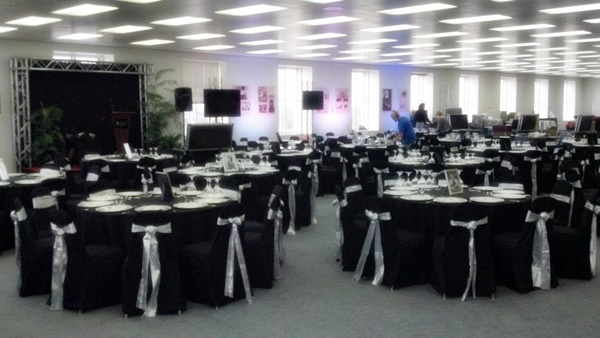 chair cover rentals madison wi x rocker stand anniversary party table and rental johnson creek rent tables in