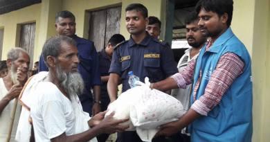 THRDA Distributes Emergency Flood Relief Aid in Musaharaniya, Dhanusha