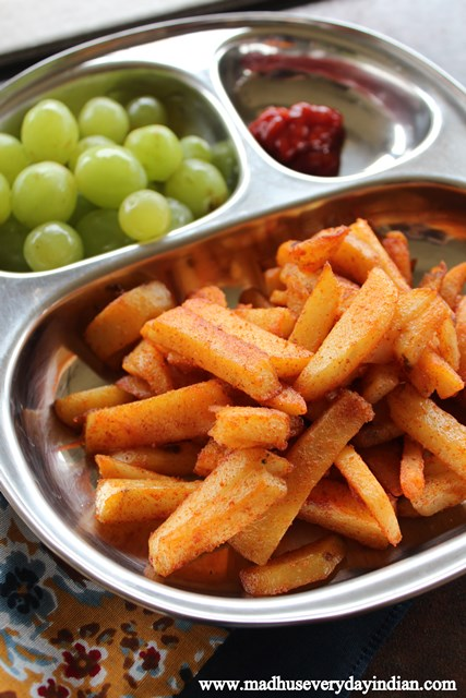 pan fried fries recipe