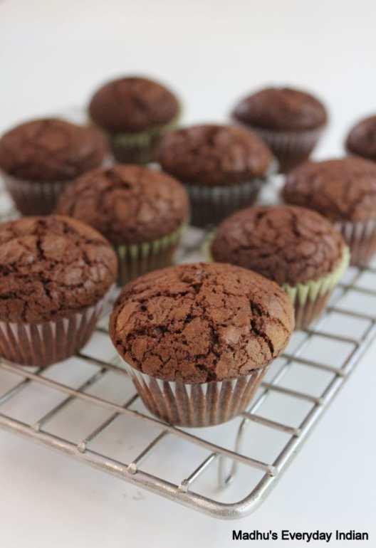 Nutella brownie Cupcakess