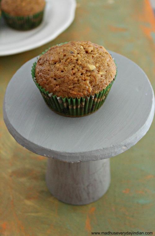 carrot cupcakes 1