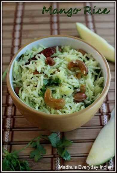 green mango rice