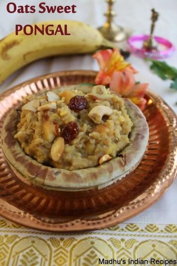 oats sweet pongal