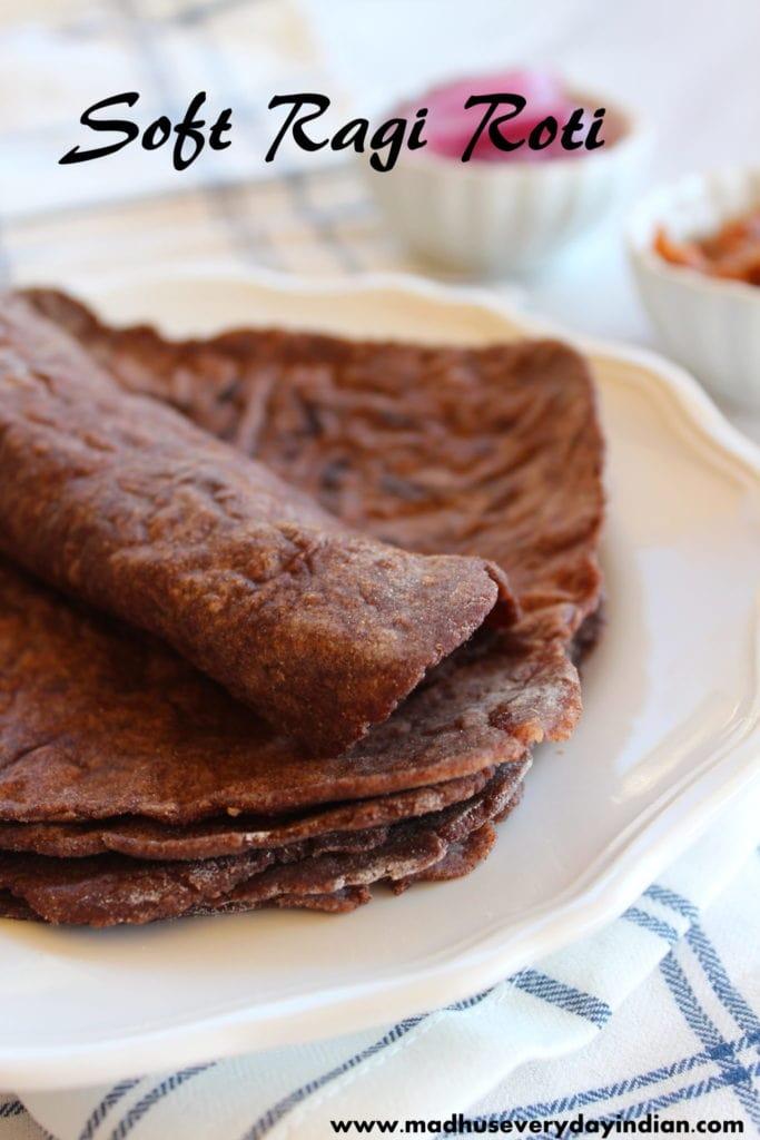 ragi roti recipe ( healthy and diabetic friendly)