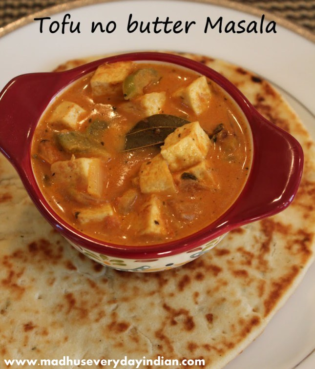 tofu butter masala, tofu curry