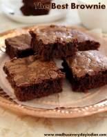 chocolate one bowl brownie recipe