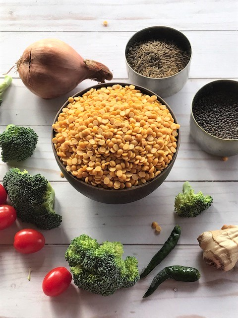 broccoli dal ingredients