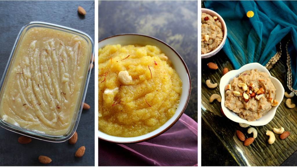 collection of halwa recipes