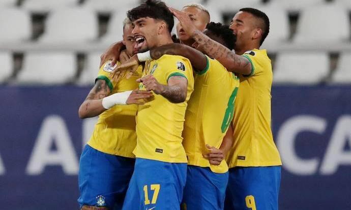 Brazil advance to Chile  Copa America 2021 Brazil vs Chile: 10-men Brazil defeats Chile to face Peru in the semi-finals