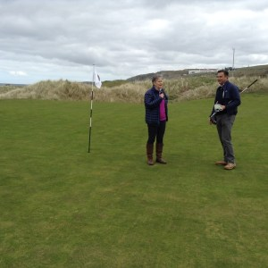 Lessons on the links with Martin Ebert.