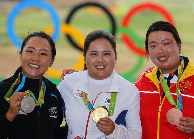 Medallists three