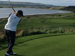 Gill on the 12th at Portstewart
