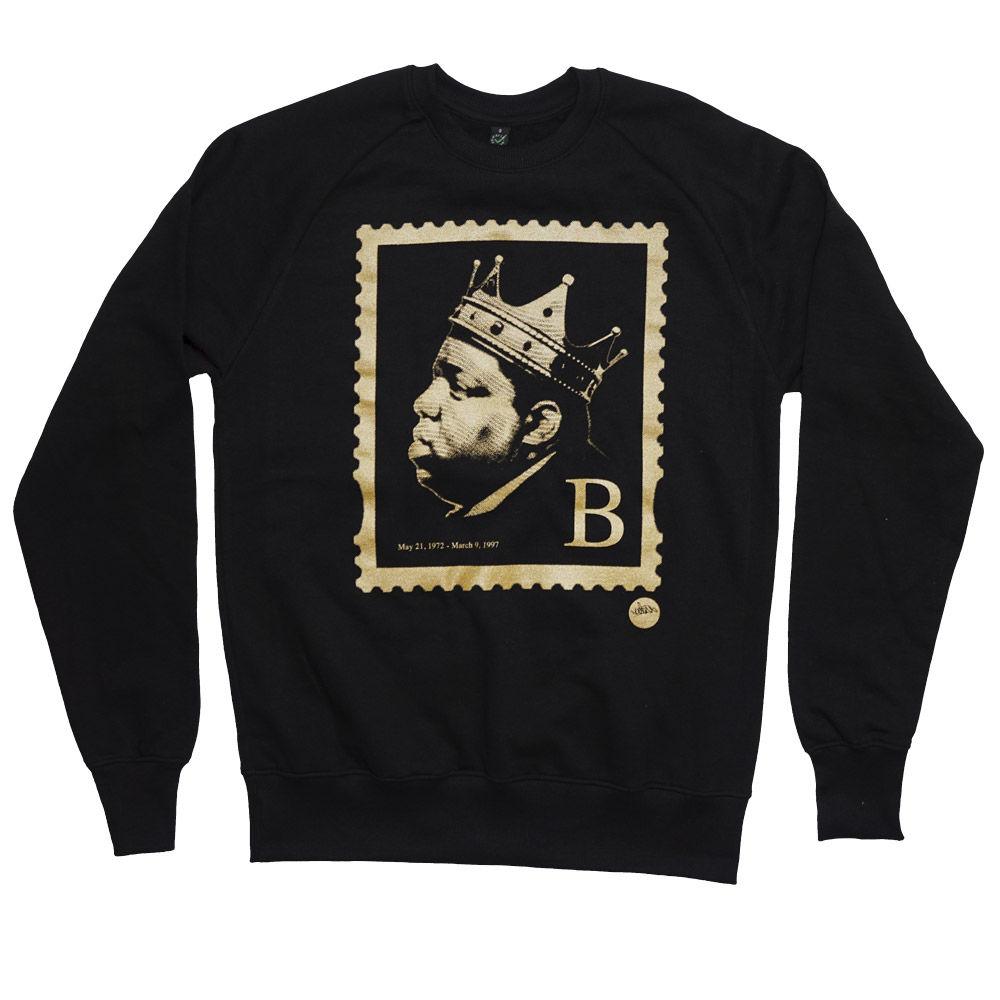 Notorious BIG 'B' Stamp Sweater