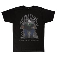 Game of Microphones MF Doom TShirt Black