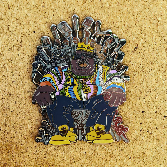 Biggie Smalls SnapBack Pin