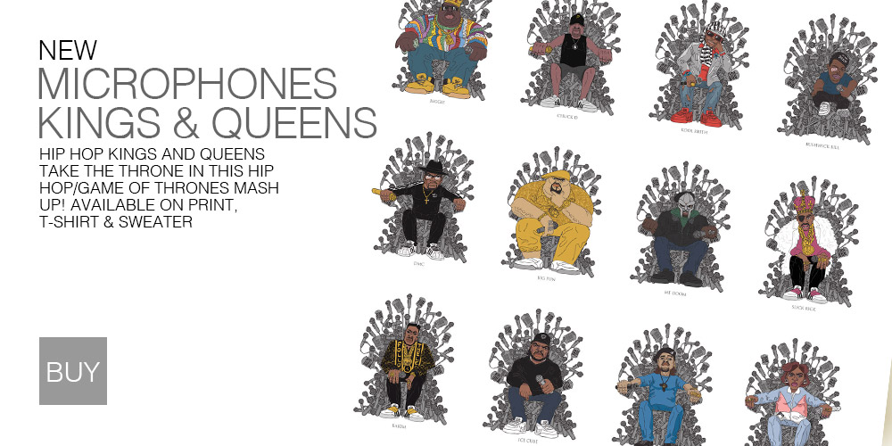 Microphone King & Queens