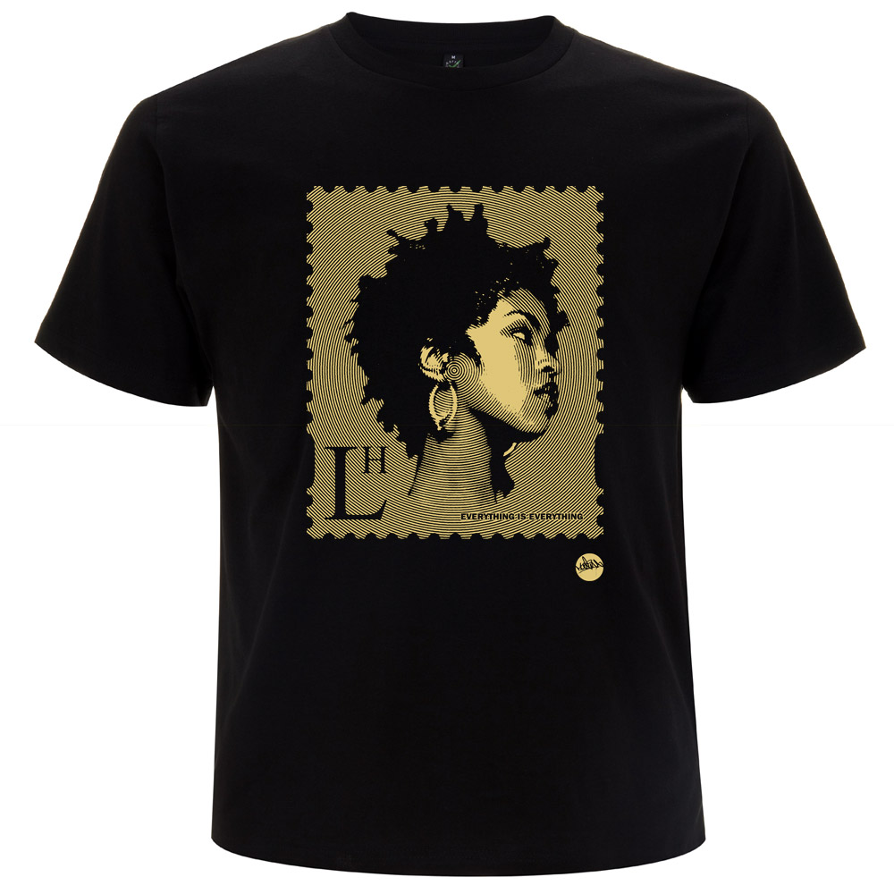 Lauryn Hill Hiphop Stamp TShirt