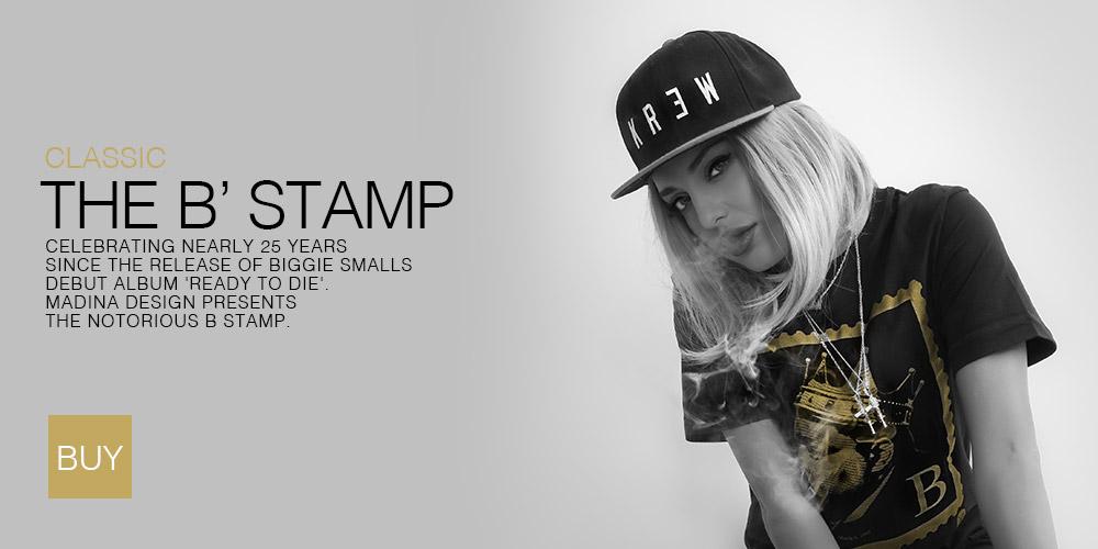 Biggie Smalls B' Stamp T-Shirt