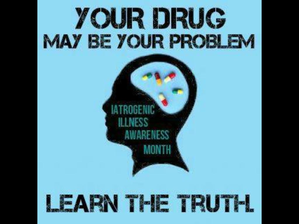 Coming Out Iatrogenic Illness Awareness Month  Mad In