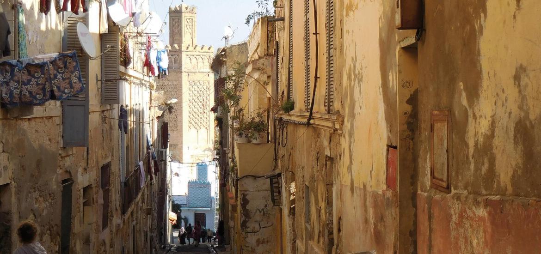 La Casbah d'Alger : Enrte Réhabilitation et Prédations