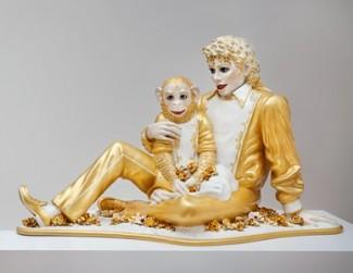 Jeff Koons - Michael Jackson and Bubbles