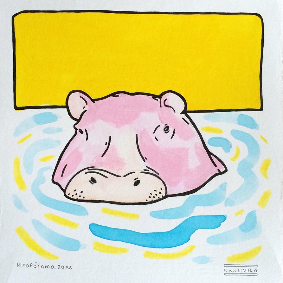 hipopotamo - sanz i vila