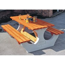 Precast Concrete Picnic Tables Madison Art Center Design
