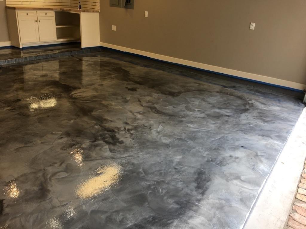Epoxy Garage Floor Coating Preparation  Madison Art