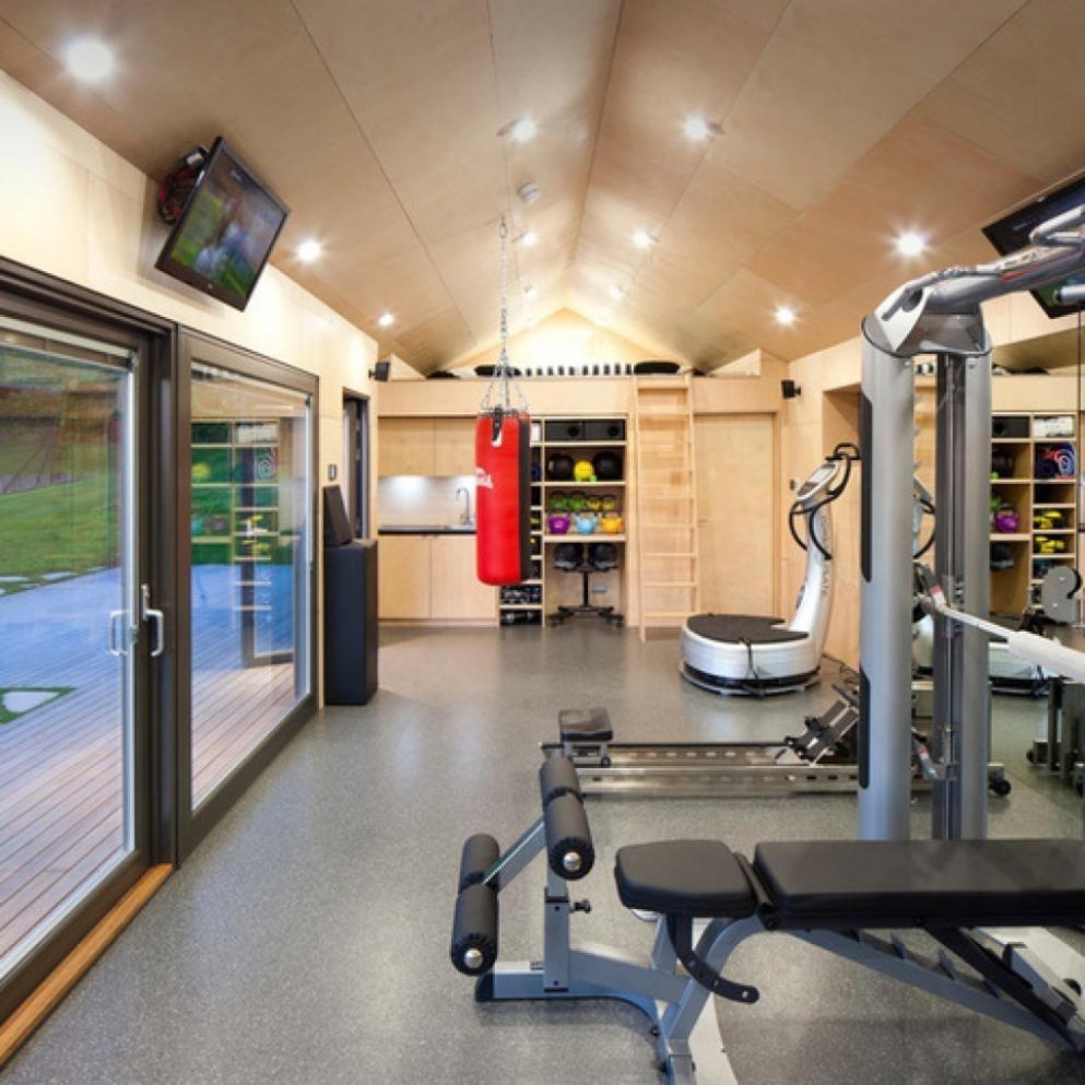 Garage Gym Flooring Ideas  Madison Art Center Design