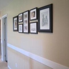Picture Frame Moulding Below Chair Rail Swinging Baby Molding Under Madison Art Center Design
